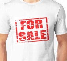 For sale red rubber stamp effect Unisex T-Shirt