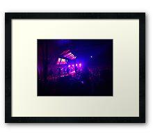 Radiohead Live St. Louis  Framed Print