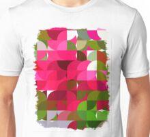 Crape Myrtle Abstract Circles 1 Unisex T-Shirt