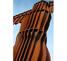 Angel of the North, up close Photographic Print