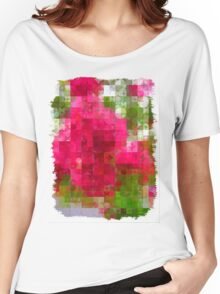 Crape Myrtle Abstract Circles 2 Women's Relaxed Fit T-Shirt