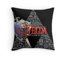 Zelda link to the past design Throw Pillow
