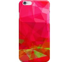 Crape Myrtle Abstract Polygons 3 iPhone Case/Skin