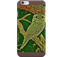 Tawny frog mouth  princess iPhone Case/Skin