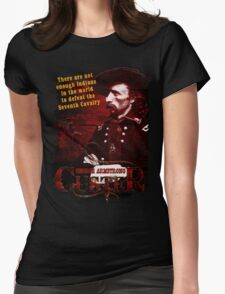 George Armstrong Custer - Seventh Cavalry T-Shirt Womens Fitted T-Shirt