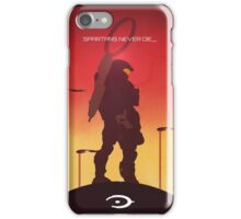 Spartan's Never Die - Halo iPhone Case/Skin