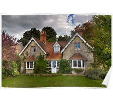 Country Cottage Poster