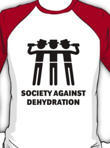 Society Against Dehydration (Black) T-Shirt