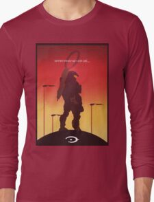 Spartan's Never Die - Halo Long Sleeve T-Shirt