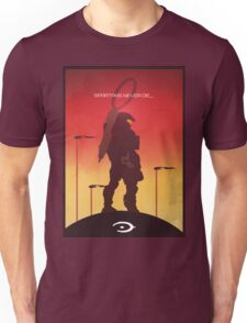 Spartan's Never Die - Halo Unisex T-Shirt