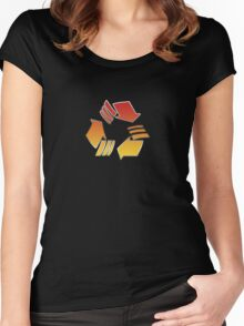 Cycle To The Future Women's Fitted Scoop T-Shirt