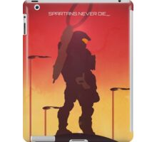 Spartan's Never Die - Halo iPad Case/Skin