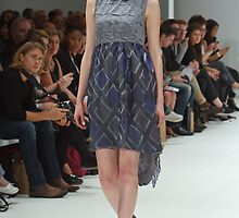2013 FAD Junior Awards. A model wears a design by Nell Downes by Keith Larby