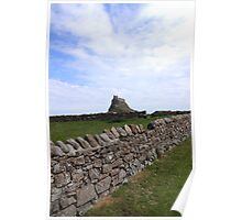 Lindisfarne Castle, Holy Island Poster