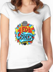 Ed Wreck, The Ed Banger Radio. Women's Fitted Scoop T-Shirt