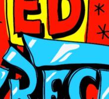 Ed Wreck, The Ed Banger Radio. Sticker