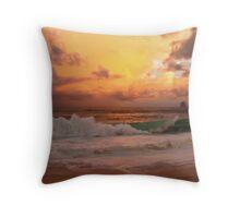 Tropical storm 2 Throw Pillow