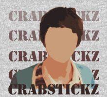 Crabstickz Inspired T-shirt by fandomchic