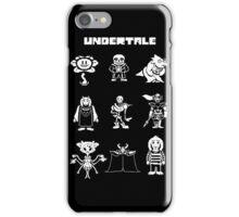 Undertale Hoodie iPhone Case/Skin