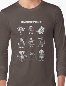 Undertale Hoodie Long Sleeve T-Shirt