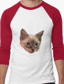 Siemese Kitten  Men's Baseball ¾ T-Shirt