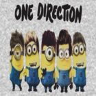 Minion One Direction by Undernhear