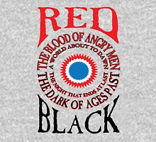 Red and Black Unisex T-Shirt