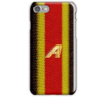 Monogram A personalized gift for him iPhone Case/Skin