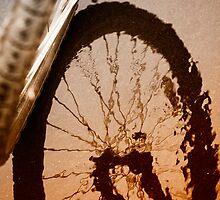 Biking by Karol Livote