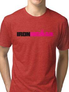 IRONWOMAN Triathlon Tri-blend T-Shirt