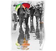Rainy Day In Dawlish Poster