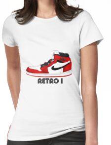 Jordan Retro I Womens Fitted T-Shirt