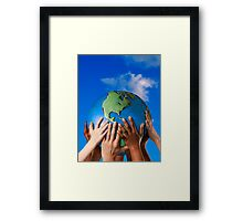 One Love Around The World Framed Print