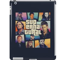 supernatural GTA iPad Case/Skin