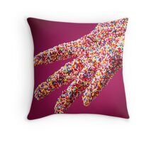 Covered in Sprinkles Throw Pillow