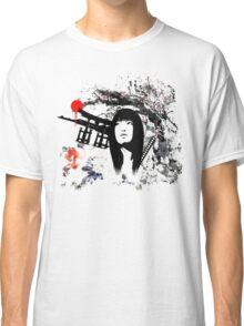 Japanese Geisha Warrior Classic T-Shirt