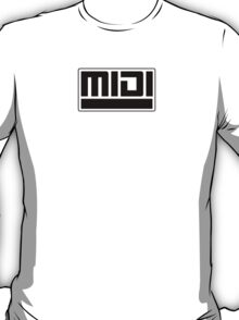MIDI - Musical Instrument Digital Interface T-Shirt