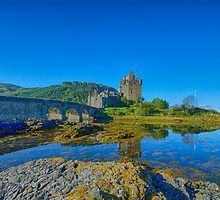 Eilean Donan Reflections by Chris Thaxter
