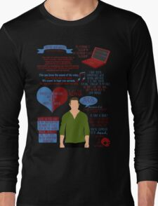 Peter Hale Quotes Long Sleeve T-Shirt