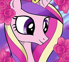 Princess Cadence with jonquil by Arielle Campbell