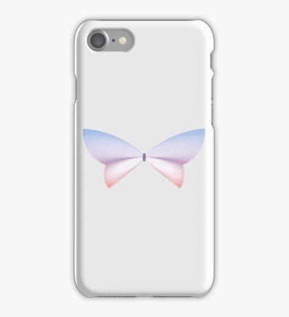 Rose Quartz & Serenity Sunset Butterfly iPhone Case/Skin