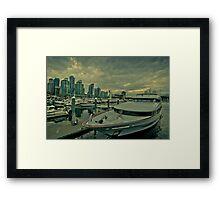 Vancouver harbor  Framed Print