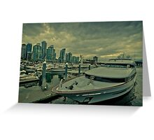 Vancouver harbor  Greeting Card