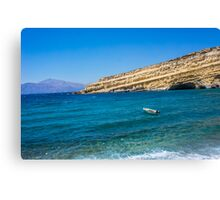 Greek landscape Canvas Print