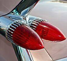 1959 Eldorado Taillights by Linda Bianic