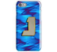 Monogram J personalized gift for him iPhone Case/Skin