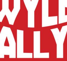 Bill & Ted's Band Tour shirt Sticker
