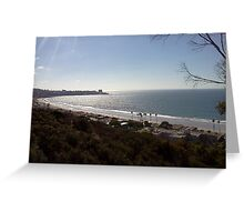 San Diego Beach - Near Scripps Institute of Oceanography Greeting Card