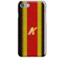 Monogram K personalized gift for him iPhone Case/Skin