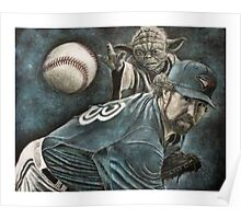 """The Force Behind The Knuckleball"" Poster"